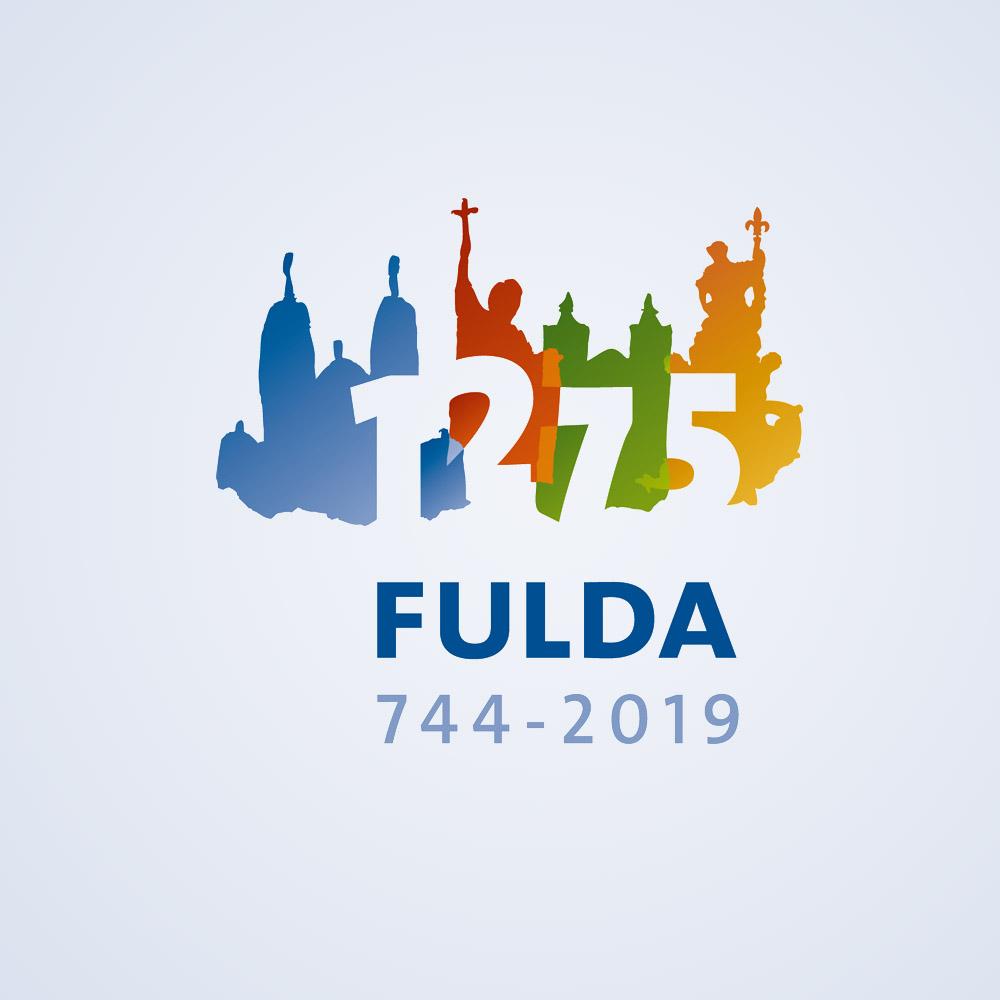 1275 jahre fulda logo suess artwork