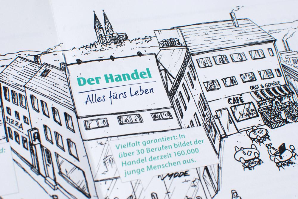 hde handelsverband deutschland alles fürs leben blumberry illustration