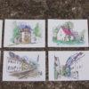 Postkarten, Fulda, Zeichnung, Illustration, Tourismus, Touristen, Postkarte, Post, Erinnerung, Souvenir, Geschenk, Druck, individuell, Papier, Pappe, Ingmar Süß, Illustration, Kunst, Design, Sehenswürdigkeiten, Munken, Mitbringsel, Fuldaer Ansichten