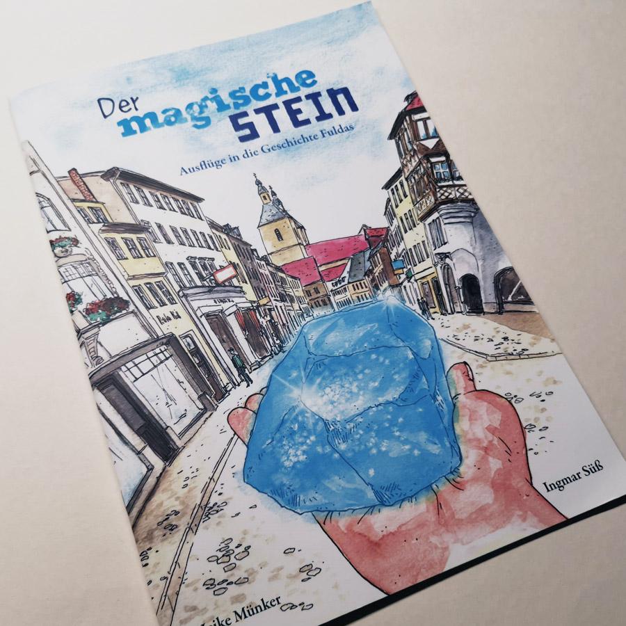 Kinderbuch, Fulda, Illustrationen, Zeichnungen, Geschichte, Aquarell, Tusche, Kunst, Verlag, historisch, Jubiläum, 1275, Ingmar Süß, suess.artwork